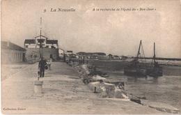 """FR11 LA NOUVELLE - Guiter 9 - à La Recherche De L'épave Du """"bon Jour"""" - Animée - Belle - Port La Nouvelle"""