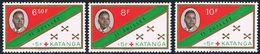 Katanga - Croix-Rouge Et 1er Anniversaire De L'Indépendance 66/68 ** - Katanga