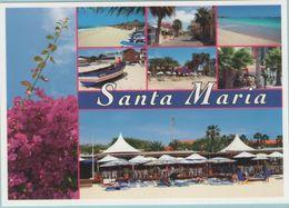 CPM:  CAP VERT :  Vues De Santa Maria.   (E149) - Cape Verde