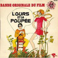 """B-O-F  Micky Jones Et Tomy Brown / Cassel / Bardot  """"  L'ours Et La Poupée  """" - Soundtracks, Film Music"""