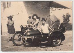 MOTO MOTORCYCLE SIDECAR SMIT PARRI - FOTO ORIGINALE - Photographs