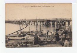 L'Aiguillon Sur Mer. Le Pont Sur Le Lay. Débarquement D'huîtres. (2642) - Autres Communes