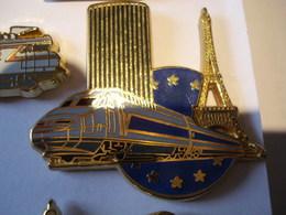 TGV PARIS MONTPARNASSE Pin's BALLARD - TGV