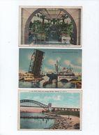 Amérique  Lot 3 Cartes - Postcards