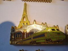 TGV PARIS GARE DU NORD Pin's BALLARD - TGV