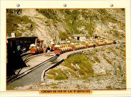 20 Fiches Techniques De Locomotive,LOT 16 - Trains