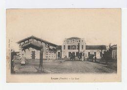 Luçon. Vendée. La Gare. Avec Voitures à Chevaux. (2646) - Lucon