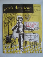 PARIS AMERICAN KIOSK (DECEMBER 1954 APROX.) - FRANCE. 32 PAGES. - Viajes/Exploración