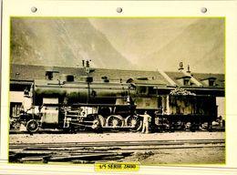 20 Fiches Techniques De Locomotive,LOT 18 - Trains