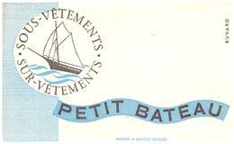 Sv PB/Buvard Sous Vétement Petit Bateau (N= 2) - Blotters