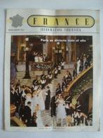 FRANCE. INFORMACIÓN TURÍSTICA. PARÍS SE DIVIERTE TODO EL AÑO (JULIO-AGOSTO 1952). - Zeitungen & Zeitschriften