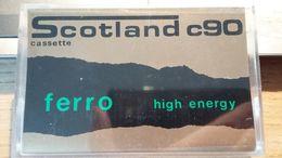 # Audiocassetta Scotland C90 Ferro Usata Una Sola Volta - Cassette