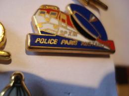 TRAIN POLICE PARIS AUSTERLITZ Pin's BALLARD - TGV