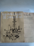 HAMBURGER JOURNAL (JUNI-JULI 1961). HAMBURG. - Hobby & Verzamelen