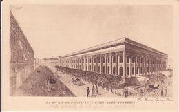 CPA -  VIEUX PARIS -  LA BOURSE - Frankrijk