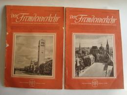 DER FREMDENVERKEHR. HEFT 21/22 1951 + 5/6 1952. - Travel & Entertainment