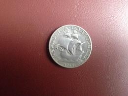 Portugal 2, 5 Escudos 1943  Silver, Prata - Portugal