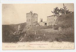07 Ruines Du Chateau De La Tourette, Près Vernoux (355) - Vernoux