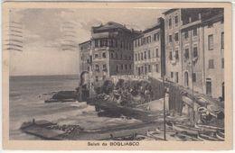 BOGLIASCO GENOVA SALUTI DA - CARTOLINA SPEDITA NEL 1926 - Italy