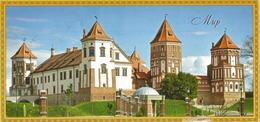 Patrimoine Mondial De L'Unesco,château De Mir (Biélorussie) Carte Postale Adressée ANDORRA,avec Timbre à Date Arrivée - Belarus