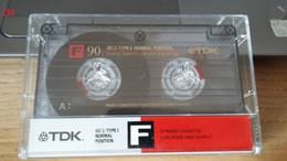 Audiocassetta TDK F 90 Usata Una Sola Volta - Cassette