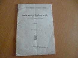 Plaquette Buenos Aires 1912 Argentine Boletin Mensual De Estadistica Agricola Agriculture Paypal Ok Out Of Europe - Livres, BD, Revues