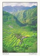 Les Rizières De Banaue De L'ethnie Batad,la Huitième Merveille Du Monde, Adressée ANDORRA,avec Timbre à Date Arrivée - Philippines