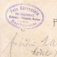 Carte Postale Allemagne  Deutschland Fels Bärenstein Steinach Dresden Bodenbach Sächs Schweiz - Allemagne