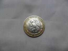 MÉXICO 10 Nuevos Pesos 1998 Km#616   BC    Bimetalica - México