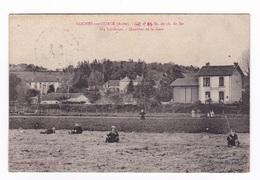 Rare CPA Loches-sur-Ource (Aube), Quartier De La Gare, Sociétté De Chemin De Fer, Années 1920. A Voyagé - Autres Communes
