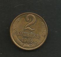RUSSIA / CCCP / SOVIET UNION - 2  KOPEKS (1986) - Russia