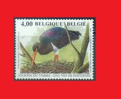 2005 Belgique, Buzin  / Black Stork, Cigogne Noire, Cigüeña Negra, Schwarzstorch  MNH ** - Storks & Long-legged Wading Birds
