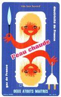 E FR/Buvard Electricité Et Gaz De France  (N= 1) - Electricité & Gaz