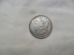 ESTADOS UNIDOS 1 DOLLAR MORGAN 1921D  KM#110  MBC - 1878-1921: Morgan