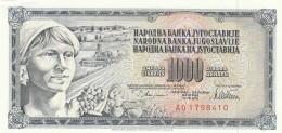 JUGOSLAVIA 1000 DINARA (2) -UNC - Jugoslavia