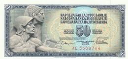 JUGOSLAVIA 50 DINARA -UNC - Jugoslavia