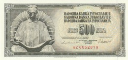 JUGOSLAVIA 500 DINARA -UNC - Jugoslavia