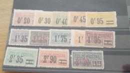 LOT 393723 TIMBRE DE FRANCE NEUF* N°34 A 46 VALEUR 80 EUROS - Parcel Post