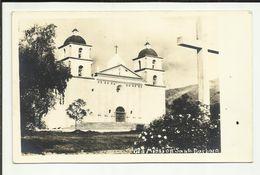 ETATS -UNIS . SANTA BARBARA . LA MISSION SANTA BARBARA . PHOTO - Santa Barbara
