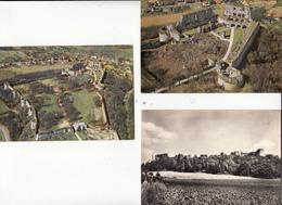 02- Coucy Le Chateau 3 Cartes Scannees Et Variees - France