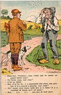 A. GAILLARD - Chasse - Humour  - Chasseur Et Son Chioen  (104275) - Altre Illustrazioni