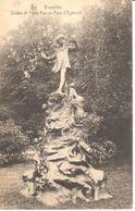 Bruxelles - CPA - Brussel - Statue De Peter Pan Au Parc D'Egmont - Monuments