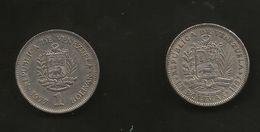VENEZUELA - UN BOLIVAR (1967 & 1977) Lot Of 2 Different Coins - Venezuela