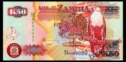 ZAMBIA 50 KWACHA 2010 Pick 37i Unc - Sambia
