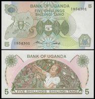 Uganda - 5 Shillings 1982 UNC - Uganda