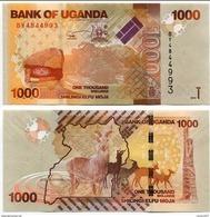 Uganda - 1000 Shillings 2015 UNC - Uganda