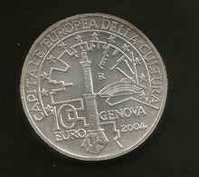 ITALIA - 10 Euro ( 2004 ) Genova Capitale Europea Della Cultura (fuori Confezione) Repubblica Italiana - Italia