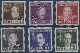 Austria 0489/494 * Charnela. 1936 - Ungebraucht
