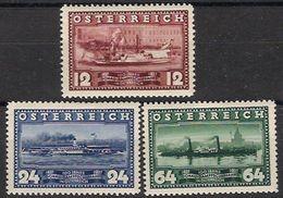 Austria 0496/498 * Charnela. 1937 - Ungebraucht