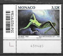 Monaco 2018 - Yv N° 3133 ** - Le Nu Dans L'Art  (La Nuit - Kees Van Dongen) - Monaco